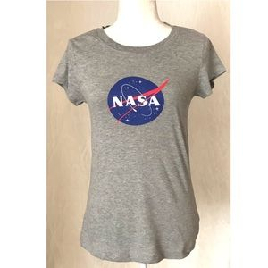 NASA Grey Classic T-Shirt | *Large (Size Down)